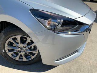 2020 Mazda 2 DJ2HAA G15 SKYACTIV-Drive Pure Sonic Silver 6 Speed Sports Automatic Hatchback.