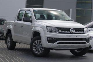 2019 Volkswagen Amarok 2H MY20 TDI500 4MOT Core White 6 Speed Manual Utility.