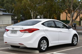 2013 Hyundai Elantra MD3 Active White 6 Speed Sports Automatic Sedan.