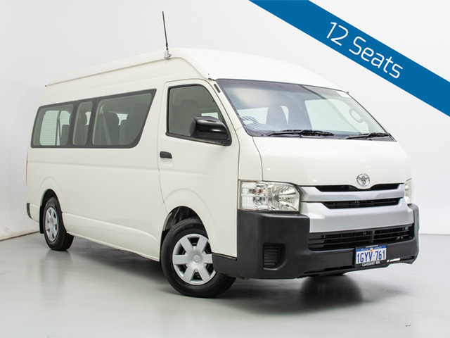 Used Toyota HiAce KDH223R MY14 Commuter, 2014 Toyota HiAce KDH223R MY14 Commuter White Bus