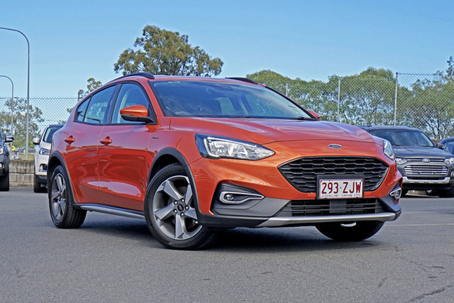 Used Ford Focus SA 2019.25MY Active, 2019 Ford Focus SA 2019.25MY Active Orange Glow 8 Speed Automatic Hatchback
