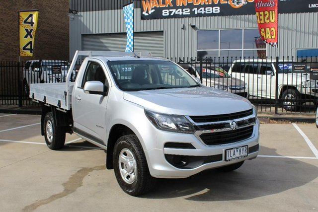 Used Holden Colorado RG MY17 LS (4x2), 2017 Holden Colorado RG MY17 LS (4x2) Silver 6 Speed Automatic Cab Chassis