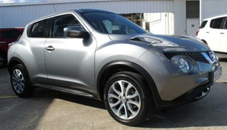 2015 Nissan Juke F15 Series 2 ST X-tronic 2WD Grey 1 Speed Constant Variable Hatchback.