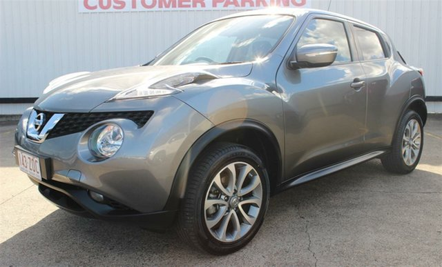 Used Nissan Juke F15 Series 2 ST X-tronic 2WD, 2015 Nissan Juke F15 Series 2 ST X-tronic 2WD Grey 1 Speed Constant Variable Hatchback