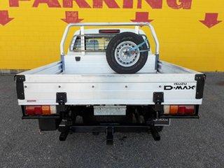 2014 Isuzu D-MAX MY15 SX Crew Cab White 5 Speed Manual Cab Chassis