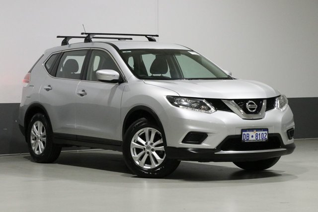 Used Nissan X-Trail T32 ST (FWD), 2016 Nissan X-Trail T32 ST (FWD) Silver Continuous Variable Wagon