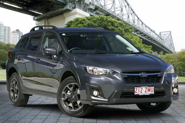 Demo Subaru XV G5X MY20 2.0i Premium Lineartronic AWD, 2019 Subaru XV G5X MY20 2.0i Premium Lineartronic AWD Magnetite Grey 7 Speed Constant Variable Wagon