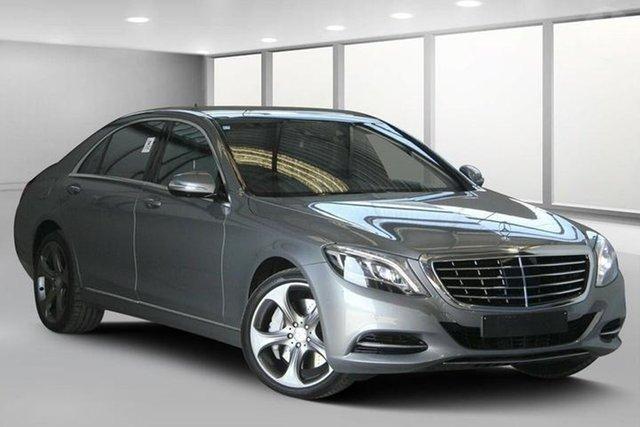 Used Mercedes-Benz S500 222 L, 2014 Mercedes-Benz S500 222 L Palladium Silver 7 Speed Automatic G-Tronic Sedan