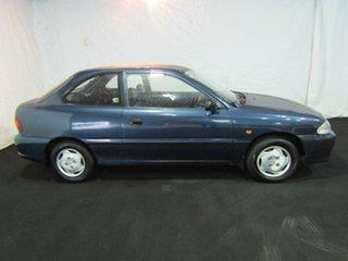 1997 Hyundai Excel X3 Sprint Cape Blue 5 Speed Manual Hatchback.