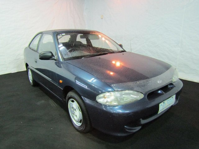Used Hyundai Excel X3 Sprint, 1997 Hyundai Excel X3 Sprint Cape Blue 5 Speed Manual Hatchback