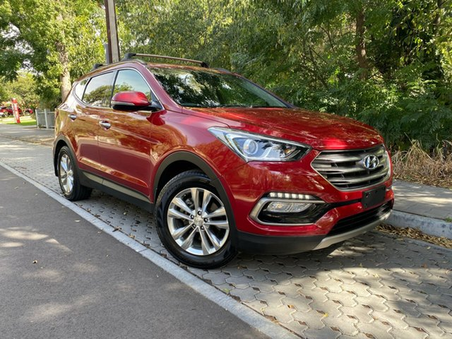 Used Hyundai Santa Fe DM3 MY16 Elite, 2016 Hyundai Santa Fe DM3 MY16 Elite Red 6 Speed Sports Automatic Wagon