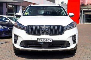 2018 Kia Sorento UM MY19 Si AWD White 8 Speed Sports Automatic Wagon