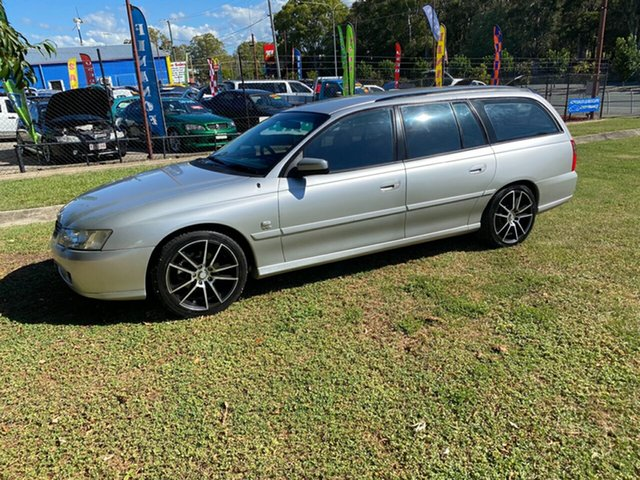 Used Holden Commodore VX II Executive, 2002 Holden Commodore VX II Executive Silver 4 Speed Automatic Wagon