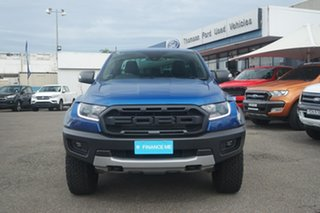 2019 Ford Ranger PX MkIII 2019.75MY Raptor Pick-up Double Cab Blue 10 Speed Sports Automatic Utility.