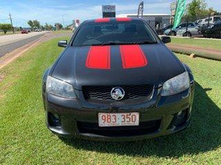 2010 Holden Commodore VE II SV6 Black 6 Speed Manual Sedan.