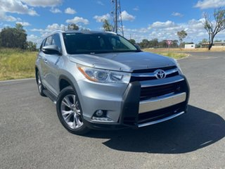 2014 Toyota Kluger GSU55R GXL AWD Silver Sky 6 Speed Sports Automatic Wagon.
