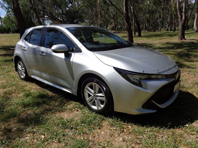 Demo Toyota Corolla Mzea12R Ascent Sport, 2020 Toyota Corolla Mzea12R Ascent Sport Silver Pearl 10 Speed Constant Variable Hatchback