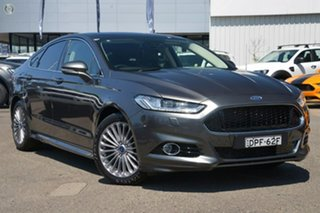 2016 Ford Mondeo MD Titanium SelectShift Magnetic 6 Speed Sports Automatic Hatchback.
