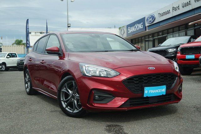 Used Ford Focus SA 2019MY ST-Line, 2018 Ford Focus SA 2019MY ST-Line Red 8 Speed Automatic Hatchback