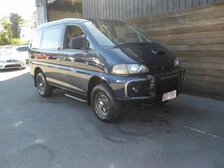 1994 Mitsubishi Delica P25W Exceed Blue 4 Speed Automatic Van Wagon.