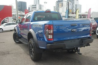 2019 Ford Ranger PX MkIII 2020.25MY Raptor Pick-up Double Cab Blue 10 Speed Sports Automatic Utility
