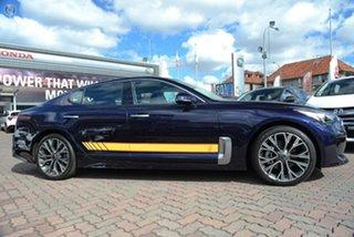 2018 Kia Stinger CK MY18 Rafa Signature Edition Fastback Blue 8 Speed Sports Automatic Sedan.