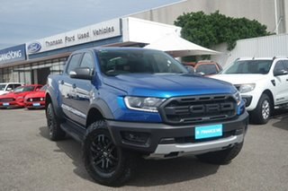 2019 Ford Ranger PX MkIII 2020.25MY Raptor Pick-up Double Cab Blue 10 Speed Sports Automatic Utility.