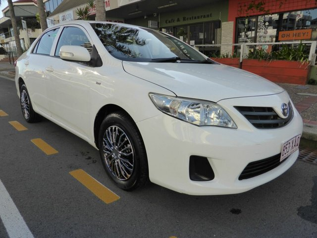 Used Toyota Corolla ZRE152R MY09 Ascent, 2010 Toyota Corolla ZRE152R MY09 Ascent White 4 Speed Automatic Sedan