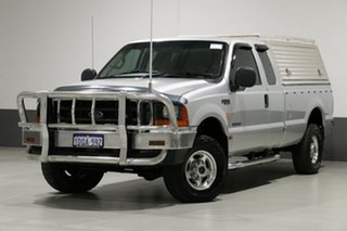 2006 Ford F250 RN XLT (4x4) Silver 4 Speed Automatic Super Cab Pickup.