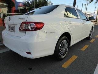 2010 Toyota Corolla ZRE152R MY09 Ascent White 4 Speed Automatic Sedan.