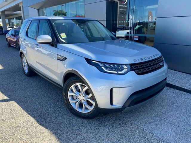 New Land Rover Discovery Series 5 L462 MY20 SD6 SE, 2019 Land Rover Discovery Series 5 L462 MY20 SD6 SE Indus Silver 8 Speed Sports Automatic Wagon