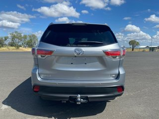 2014 Toyota Kluger GSU55R GXL AWD Silver Sky 6 Speed Sports Automatic Wagon