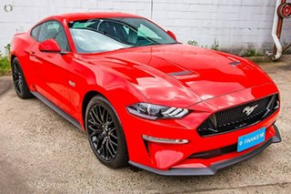 2018 Ford Mustang FN 2018MY GT Fastback Red 6 Speed Manual Fastback.