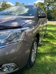 2013 Nissan Pathfinder R52 MY14 ST-L X-tronic 2WD River Stone 1 Speed Constant Variable Wagon