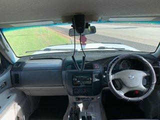 2003 Nissan Patrol GU III MY2003 ST White 4 Speed Automatic Wagon