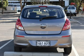 2012 Hyundai i20 PB MY12 Active Grey 5 Speed Manual Hatchback