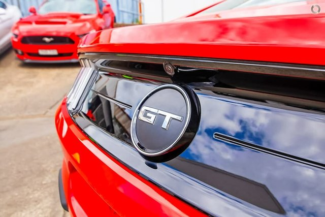 Used Ford Mustang FN 2018MY GT Fastback, 2018 Ford Mustang FN 2018MY GT Fastback Red 6 Speed Manual Fastback