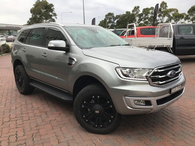 Demo Ford Everest UA II 2019.75MY Trend 4WD, 2019 Ford Everest UA II 2019.75MY Trend 4WD Aluminium 10 Speed Sports Automatic Wagon