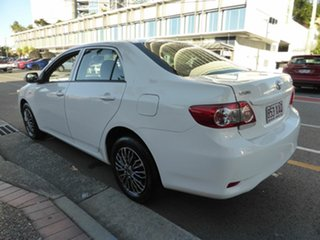 2010 Toyota Corolla ZRE152R MY09 Ascent White 4 Speed Automatic Sedan