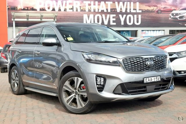 Used Kia Sorento UM MY19 GT-Line AWD, 2018 Kia Sorento UM MY19 GT-Line AWD Grey 8 Speed Sports Automatic Wagon