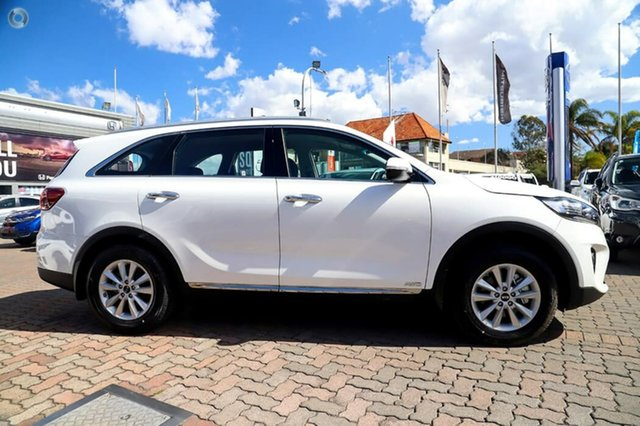 Used Kia Sorento UM MY19 Si AWD, 2018 Kia Sorento UM MY19 Si AWD White 8 Speed Sports Automatic Wagon