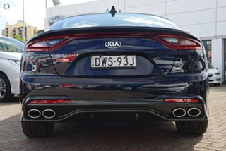 2018 Kia Stinger CK MY18 Rafa Signature Edition Fastback Blue 8 Speed Sports Automatic Sedan