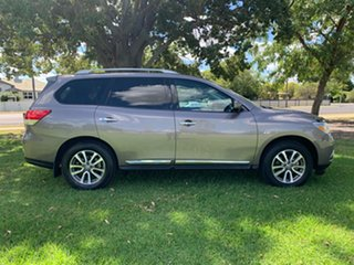 2013 Nissan Pathfinder R52 MY14 ST-L X-tronic 2WD River Stone 1 Speed Constant Variable Wagon.