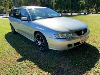 2002 Holden Commodore VX II Executive Silver 4 Speed Automatic Wagon.