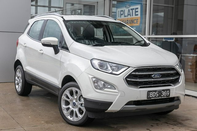 Used Ford Ecosport BL 2020.00MY Titanium, 2019 Ford Ecosport BL 2020.00MY Titanium White 6 Speed Automatic Wagon