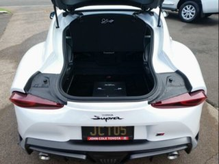 2019 Toyota Supra J29 GR GTS Fuji White 8 Speed Sports Automatic Coupe