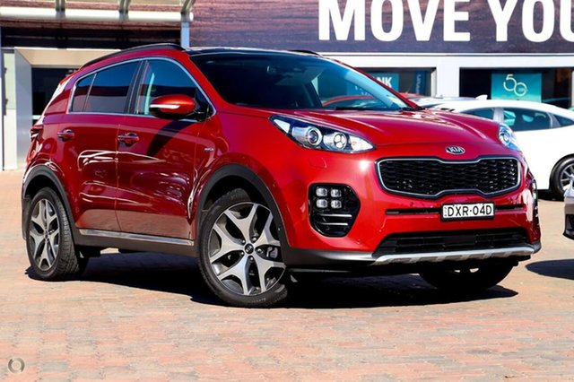 Used Kia Sportage QL MY17 GT-Line AWD, 2017 Kia Sportage QL MY17 GT-Line AWD Red 6 Speed Sports Automatic Wagon