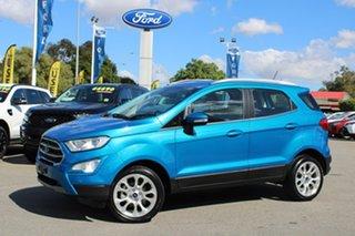 2019 Ford Ecosport BL 2019.25MY Titanium Blue 6 Speed Automatic Wagon.