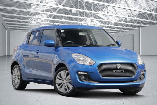 Used Suzuki Swift  GL Navi (Qld), 2017 Suzuki Swift GL Navi (Qld) Boost Blue Continuous Variable Hatchback