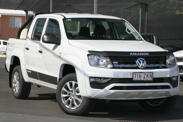 Demo Volkswagen Amarok 2H MY20 TDI550 4MOTION Perm Core, 2019 Volkswagen Amarok 2H MY20 TDI550 4MOTION Perm Core Candy White 8 Speed Automatic Utility